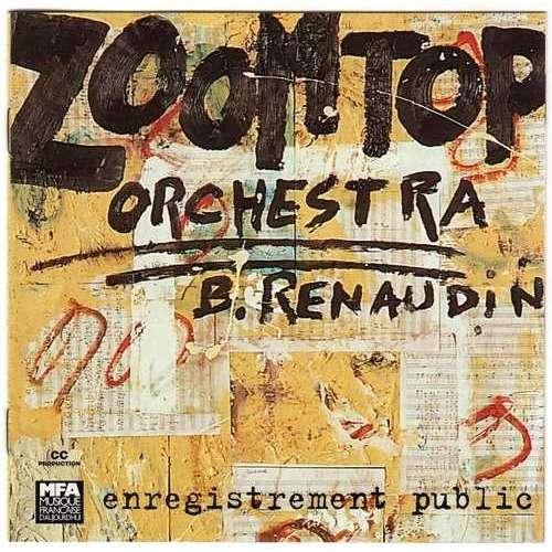 Zoomtop Orchestra, Bertrand Renaudin, Enregistrement Public